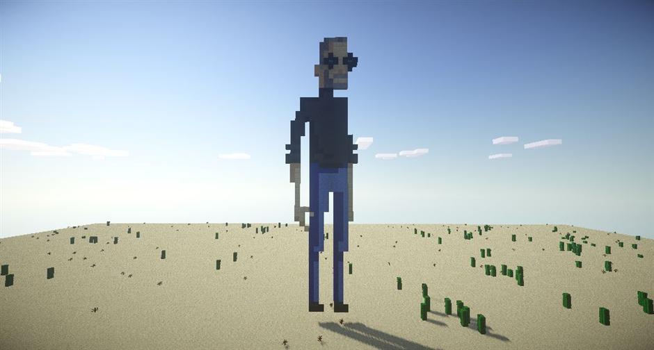 Стив Джобс из шерсти, песка, камня и грибов