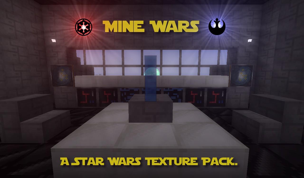 Mine Wars - текстурпак в стиле Star Wars