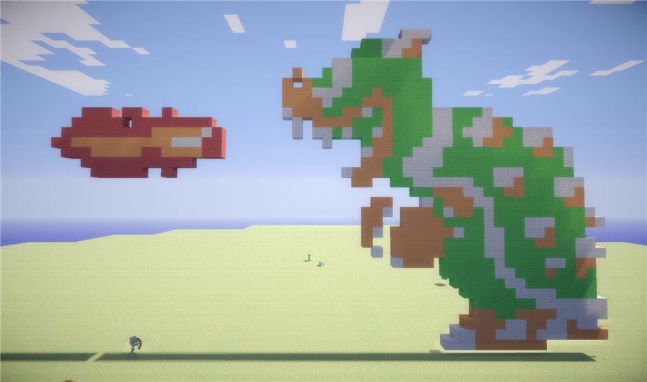 Дракон из Super Mario Brothers 2