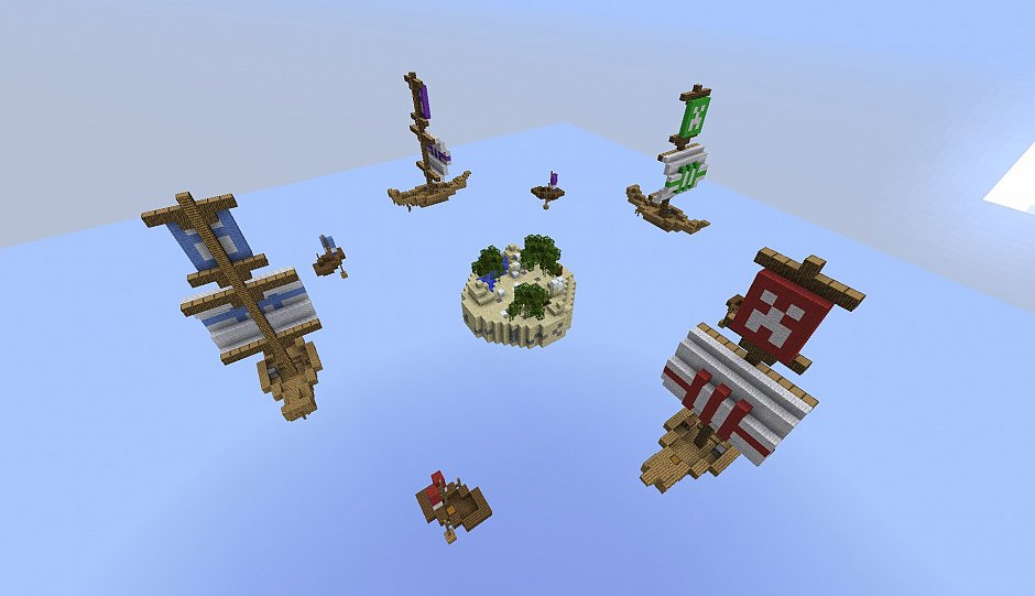 Сервера проекта MineZ.Ru - 4 новых карты для SkyWarZ