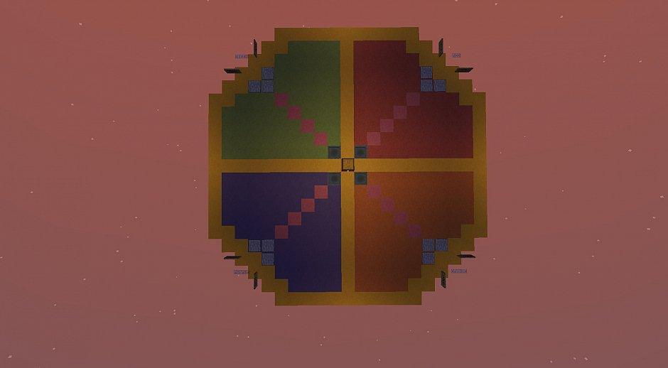 Цветовой код (Color coded) - паркур-карта