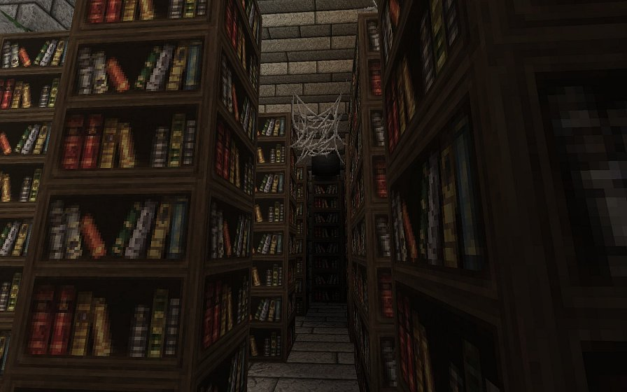 Старая библиотека - карта приключений