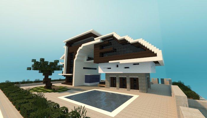 Футуристический дом