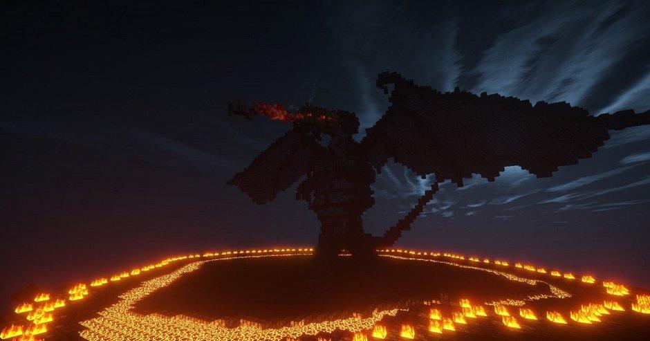 Огнедышащий дракон Мелькор