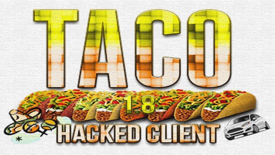 Чит-клиент Taco для 1.8 и 1.8.1