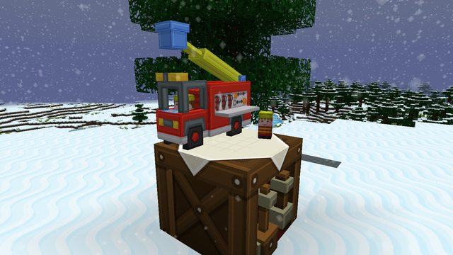Новогодний ресурс пак для minecraft 1 8