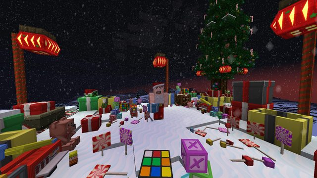 XmasBDcraft 2014 (новогодний ресурс-пак)