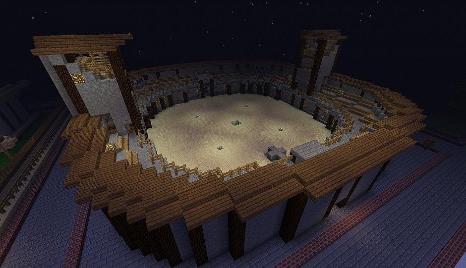 Небольшая PVP арена от vanek15