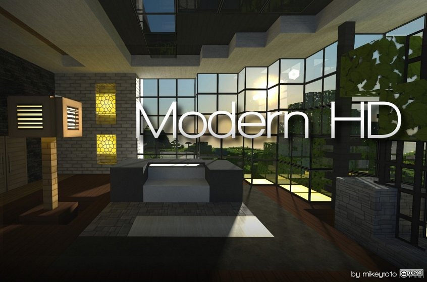 Текстуры модерн на майнкрафт 1.7
