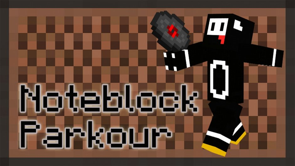 Noteblock Parkour - паркур-карта