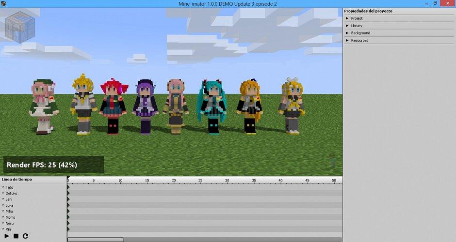 Pixeloid Rigs - риглы для Mine-Imator