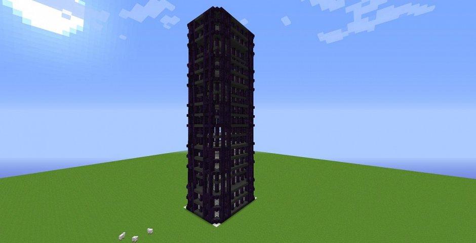 Skyscrapers Bundle - сборник небоскребов для Minecraft
