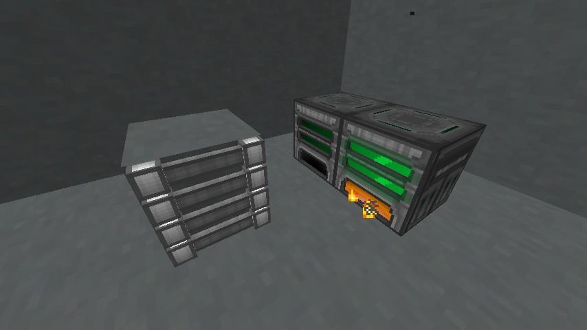 REX' PACK - футуристический ресурс-пак