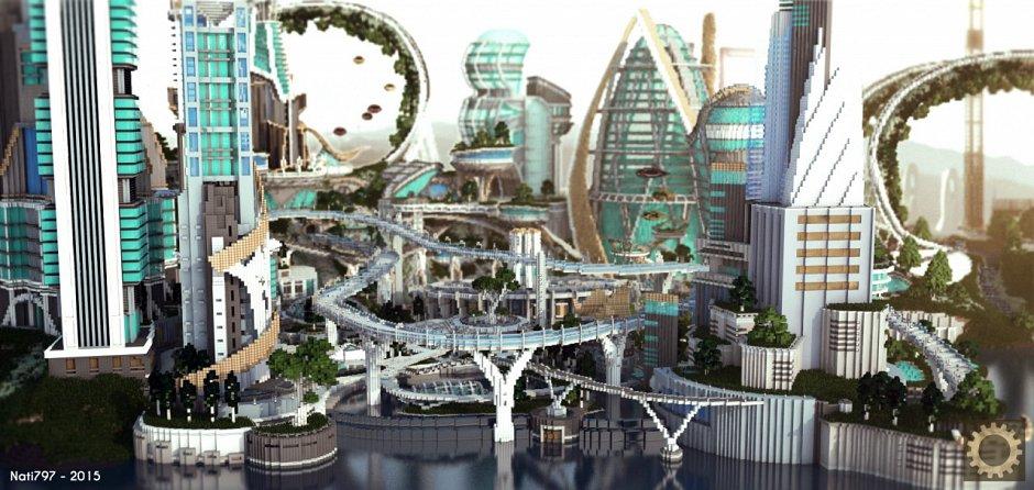 Tomorrowland - город из фильма Земля будущего
