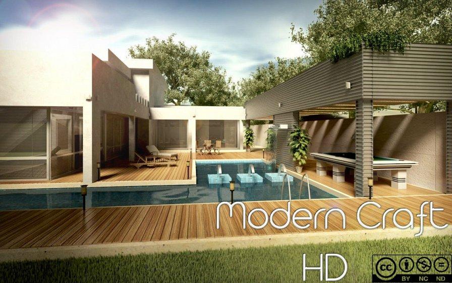 Modern Craft - ресурс-пак в стиле Модерн