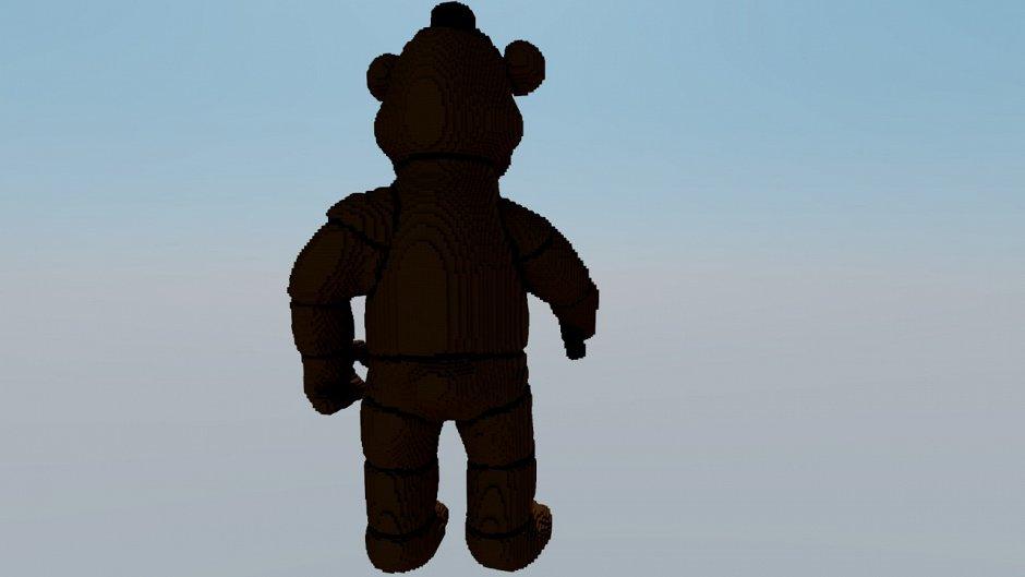 Статуя Freddy Fazbear