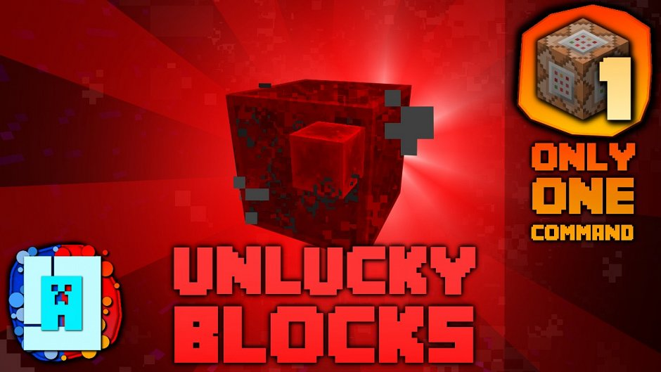 Unlucky Blocks! - блок неудачи