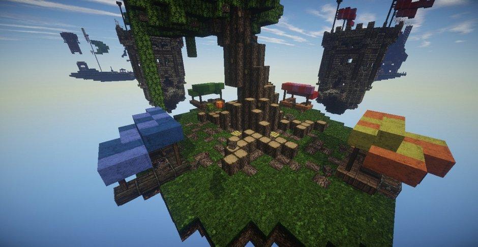 ZeroVoid (PvP Bed Wars) [Карта] » Скачать Minecraft ~ Все ...