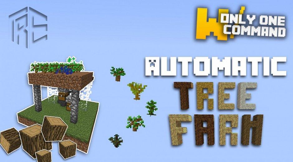 Automatic tree farm - автоматическая ферма деревьев