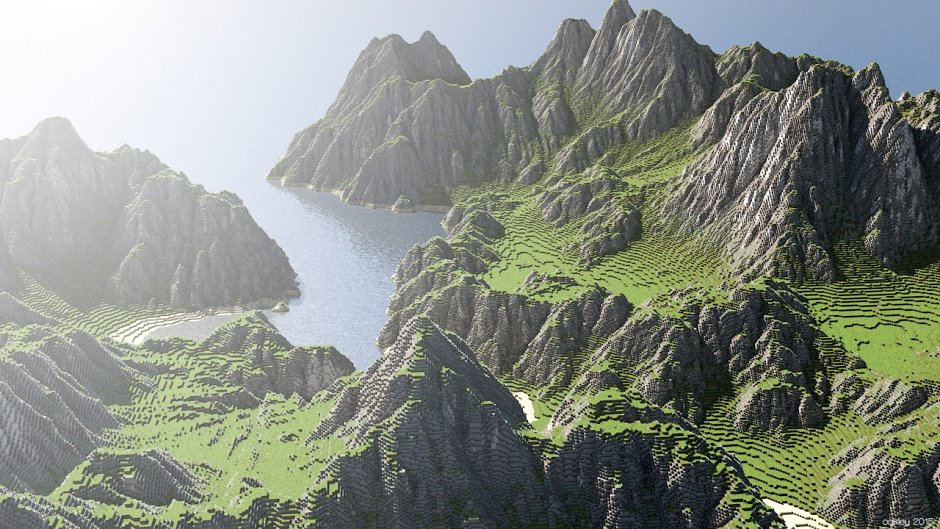 Фентезийный ландшафт