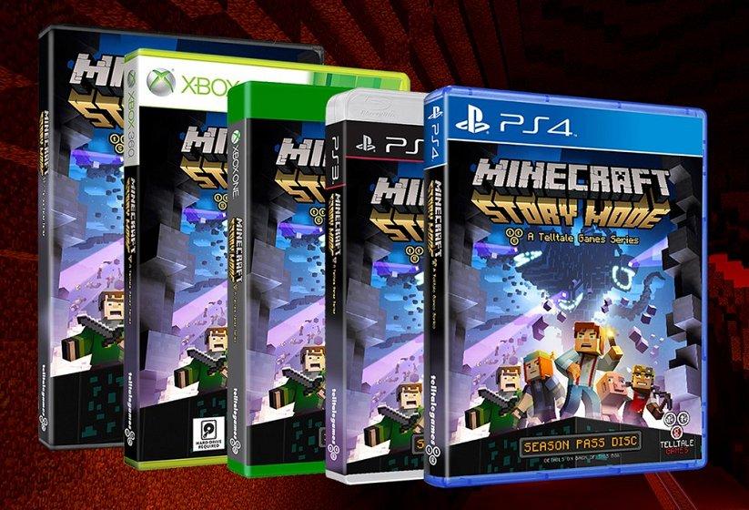 Стала известна дата выхода Minecraft: Story Mode