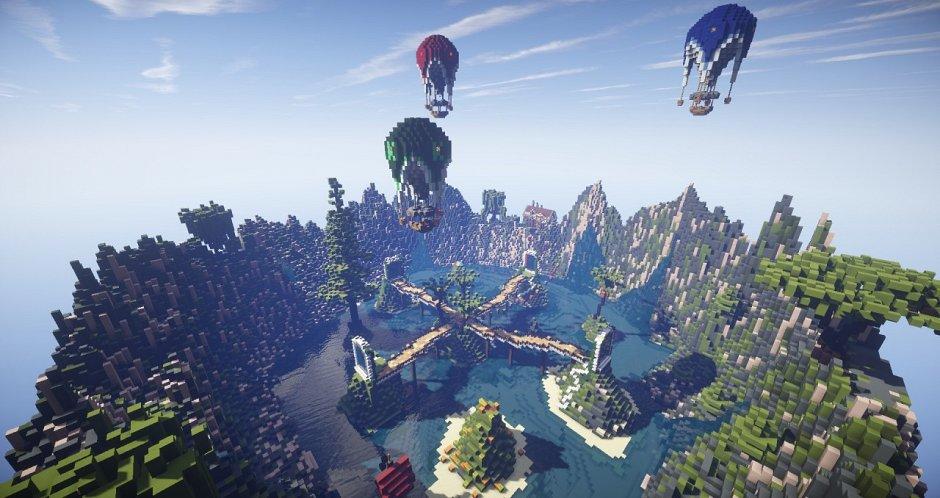 Спавн для сервера Minecraft