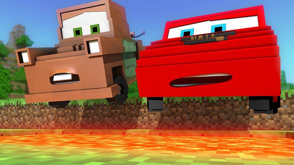 Тачки в Minecraft