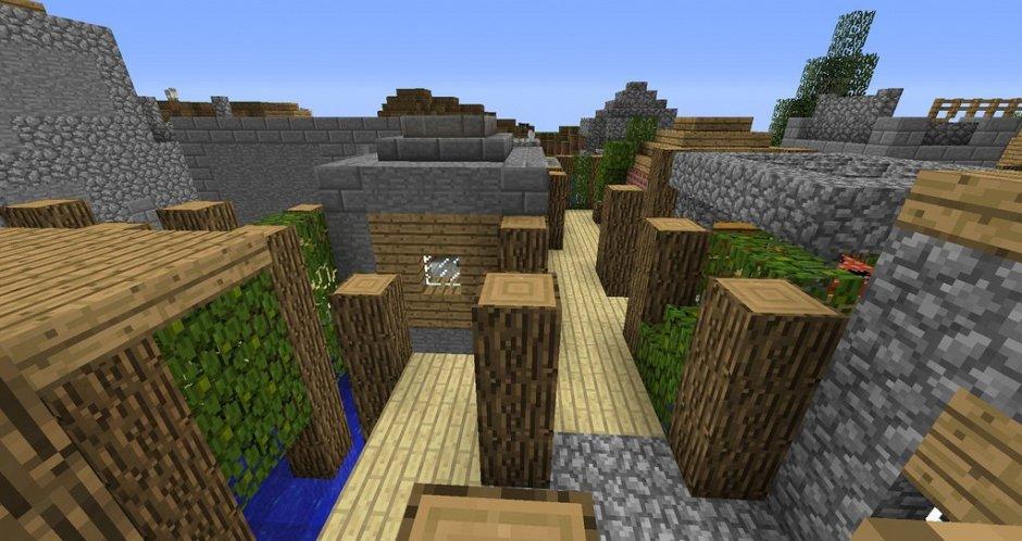 Hide 'n Seek - прятки в Minecraft 1.8