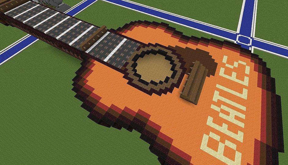 Акустическая гитара для Minecraft от Jeky