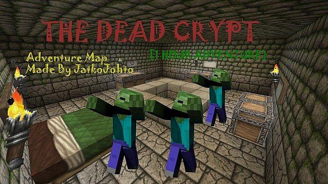 The Dead Crypt - карта приключений для Майнкрафт 1.10.2