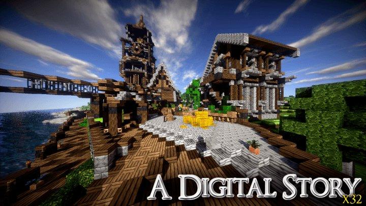 A Digital Story - фантазийный средневековый фантазия ресурс-пак