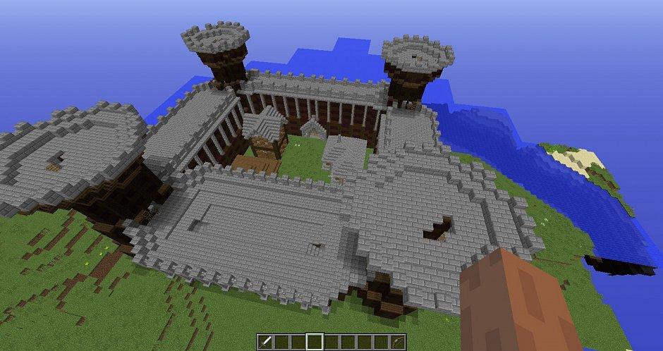 Средневековый замок от heronit