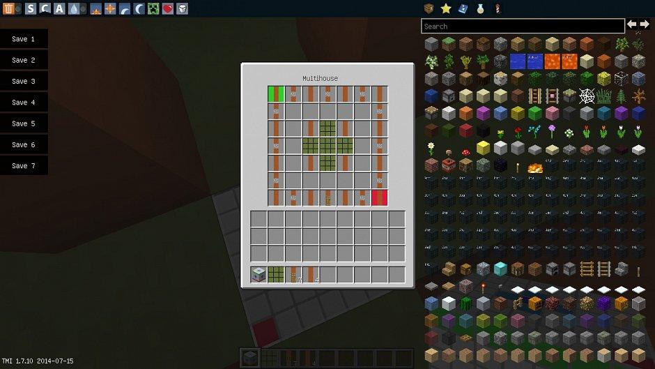 Мод Multihouse 1.7.10