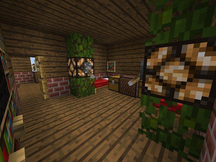 скачать карту общежитие для minecraft