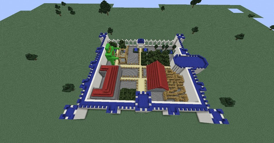 скачать карту для майнкрафт современная деревня - фото 7