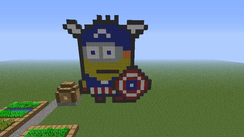 Супер Миньон воин