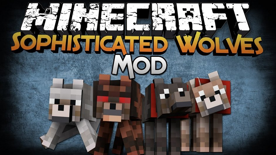 Sophisticated Wolves Mod 1.5.2