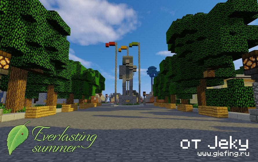 Everlasting Summer Project - Бесконечное лето в Minecraft