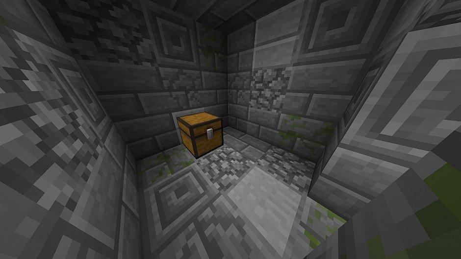 Minecraft тайник