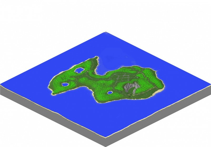 Рыбий остров dayz