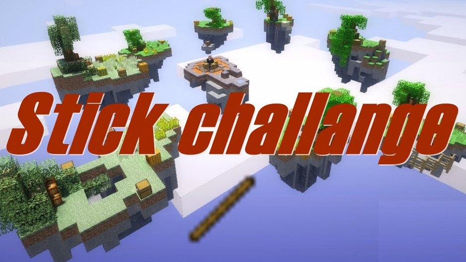 Stick challange (sky wars)