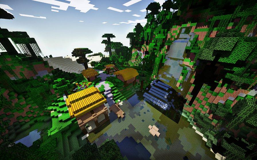 Поселение в джунглях
