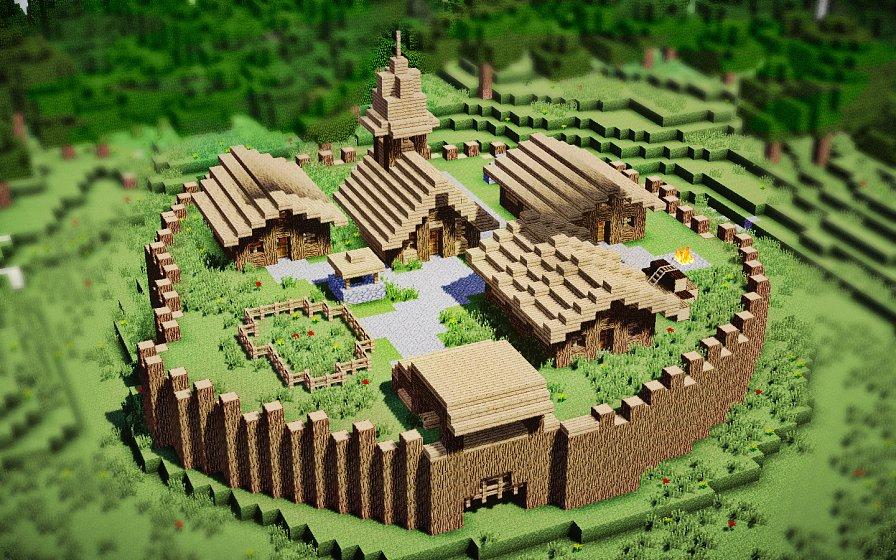 Средневековый форт №2