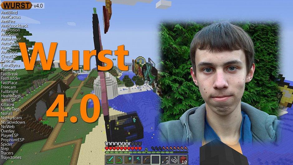 Чит-клинт WURST V.4.0 для Minecraft 1.10.x