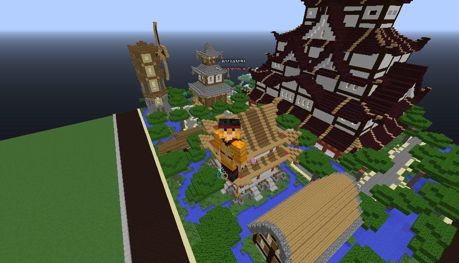 Японская деревня от andreytawer