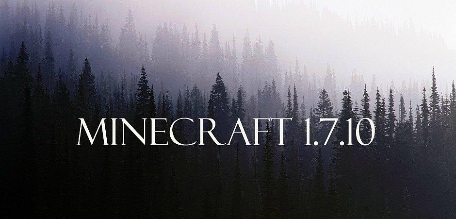 Сборка minecraft 1.7.10