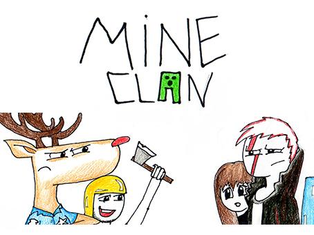 MineClan. Карикатура