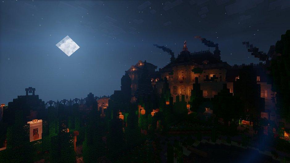 Большой особняк в Minecraft от Tobernant