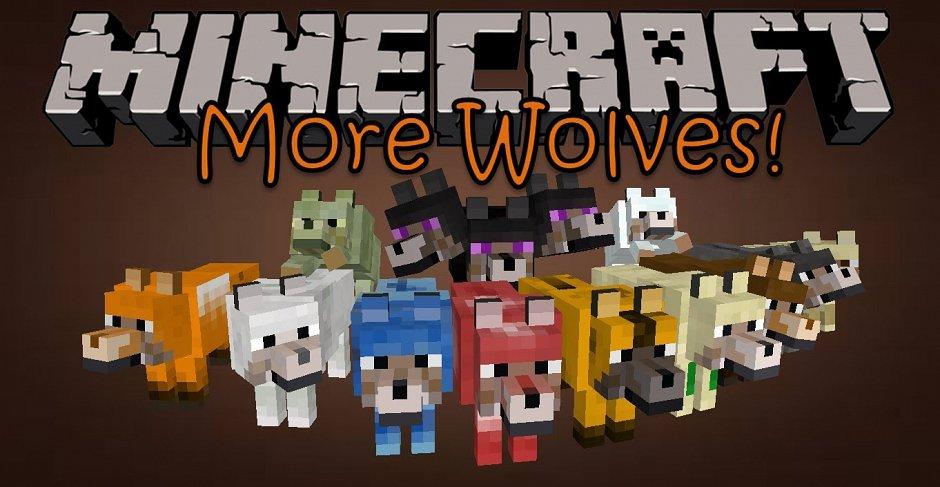 Завоз новых волков или More Wolves Mod
