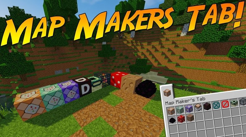 Map Maker's Tab [1.12]